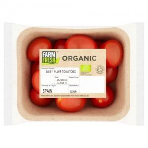 Farm Fresh Organic Baby Plum Tomatoes