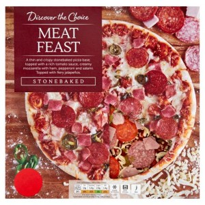 Discover the Choice Meat Feast Pizza 350g