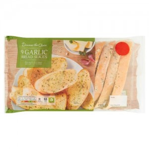 Discover the Choice 9 Garlic Bread Slices 290g