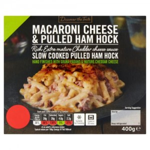 Discover the Taste Macaroni Cheese & Pulled Ham Hock 400g
