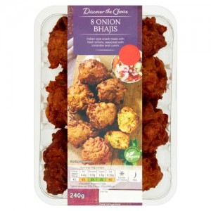 Discover the Choice 8 Onion Bhajis 240g