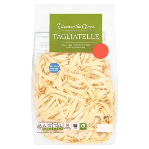 Discover the Choice Tagliatelle 500g