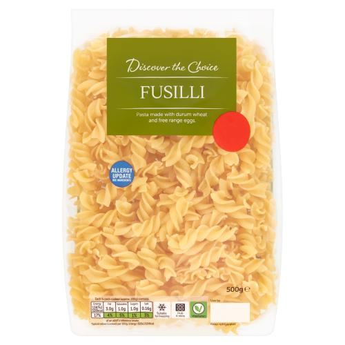 Discover the Choice Fusilli 500g