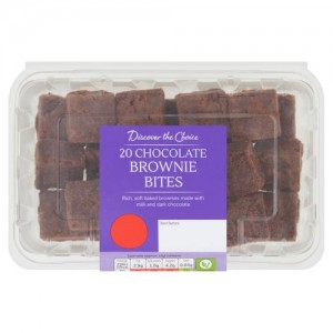Discover the Choice 20 Chocolate Brownie Bites