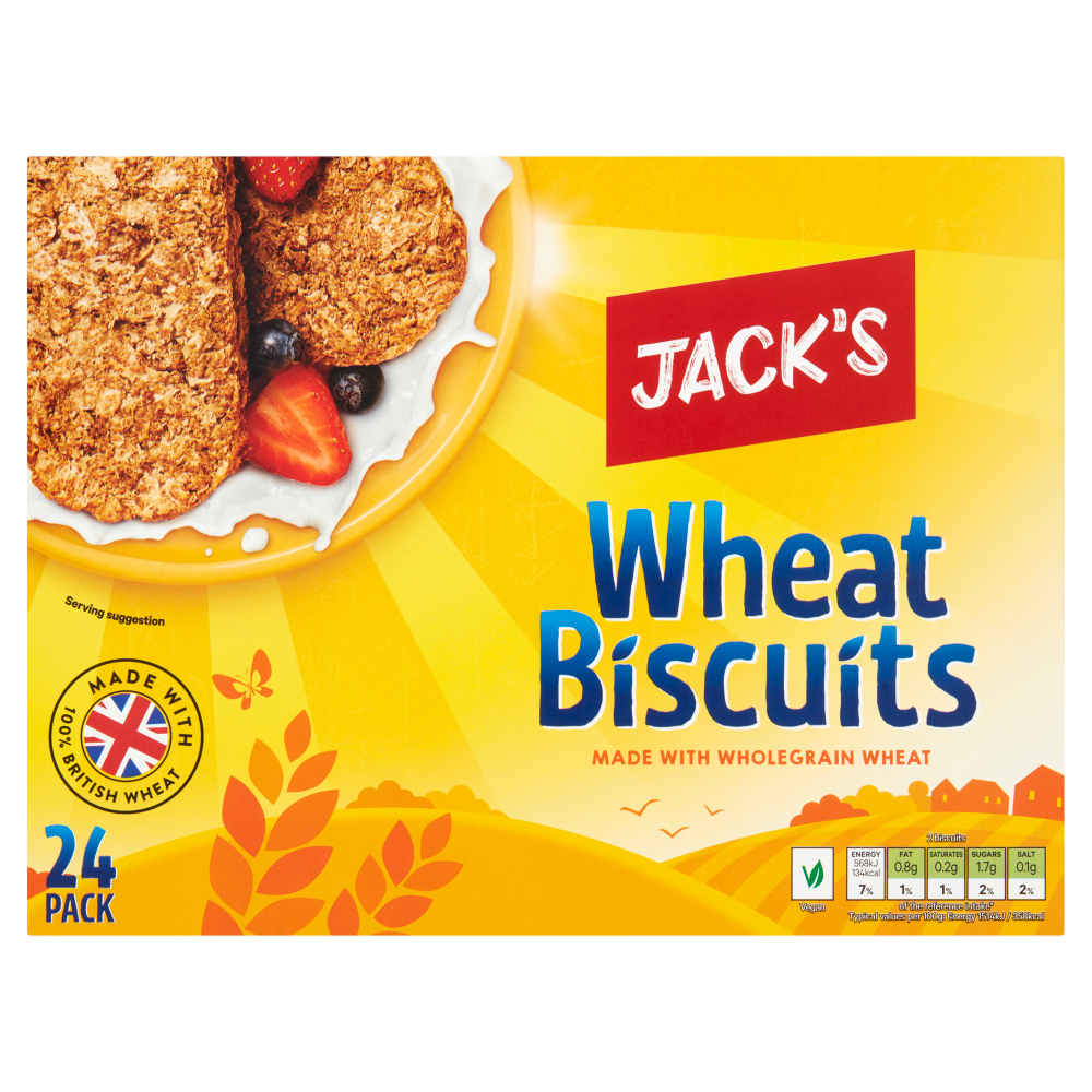 Jack's 24 Wheat Biscuits