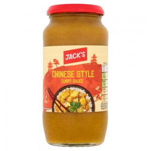 Jack's Chinese Style Curry Sauce 500g