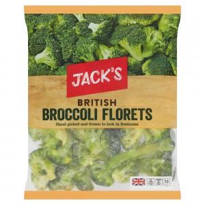 Jack's British Broccoli Florets 900g