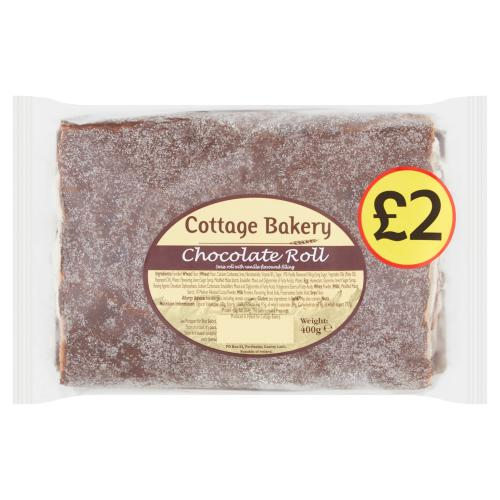 Cottage Bakery Chocolate Roll 400g