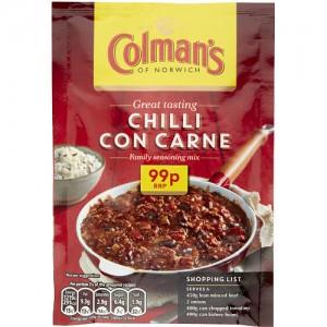 Colmans Cass Chilli Carne