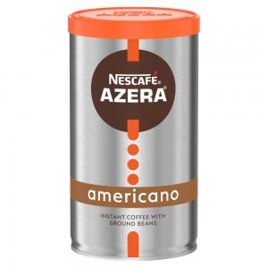 Nescafé Azera Americano Instant Coffee with Ground Beans 100g