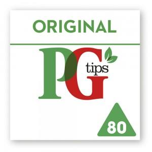 PG tips Original 80 Tea Bags