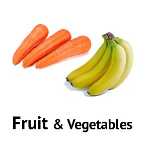 Fruit - Vegetables