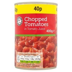 Euro Shopper Chopped Tomatoes