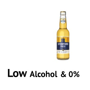 0% or Low Alcohol