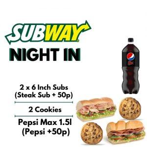 Subway Night In